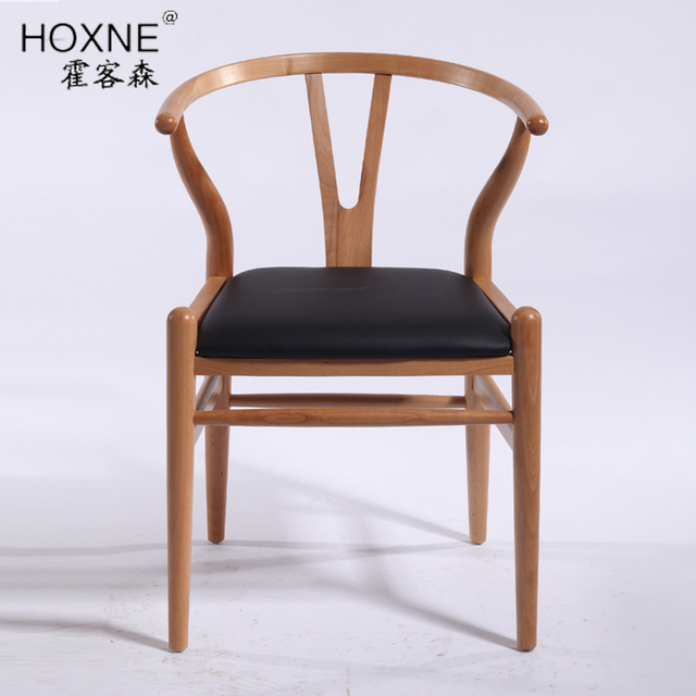 Us 1057 2 Huo Passenger Sen Wood Dining Chair Cushion Y Ychair Leather Chair Single Computer Chair Leisure Chair In Shampoo Chairs From Furniture On