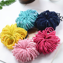 20pcs/lot Girls Hair Decorations Elastic Kids Hairbands For Bands Headband Women Styling Accessories Wholesale