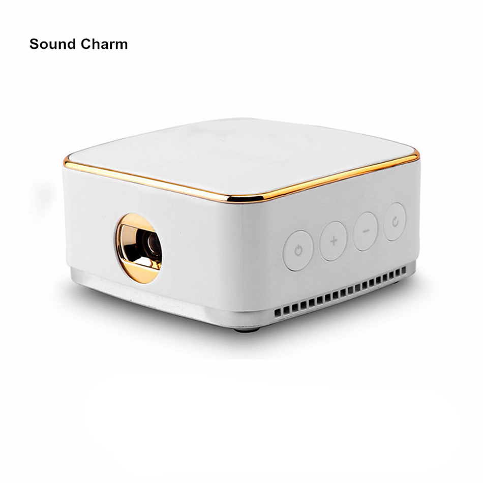 Sound charm mini projector android 5 1 pico dlp portable for Mirror mini projector