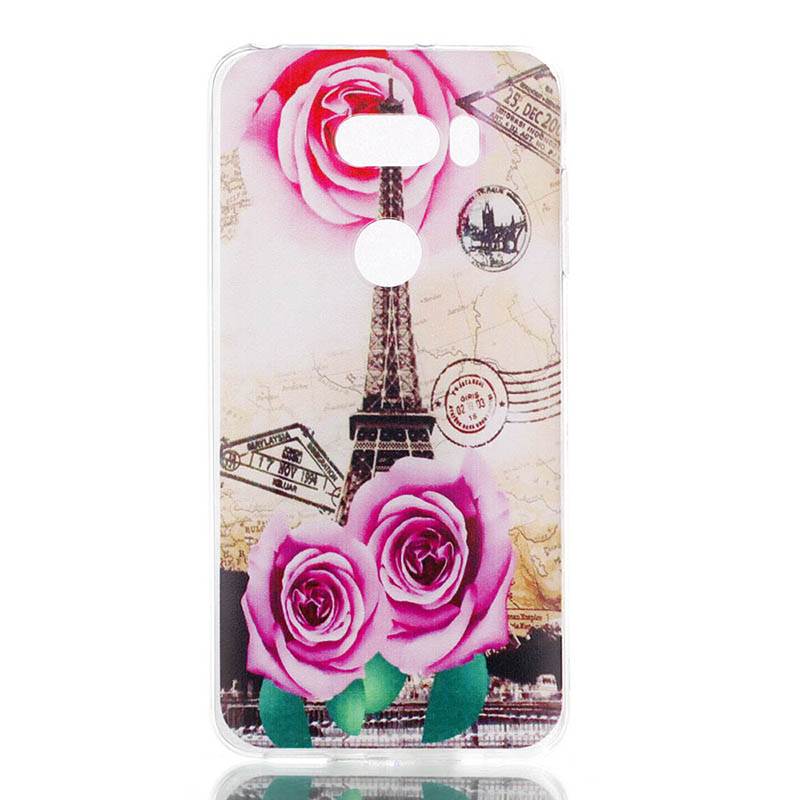 Transparent Silicon TPU For LG K10 K8 X STYLE Cases Dirt Resitant TPU For LG Q6 Q8 Case For LG X POWR2 STYLUS 3 For LG V30