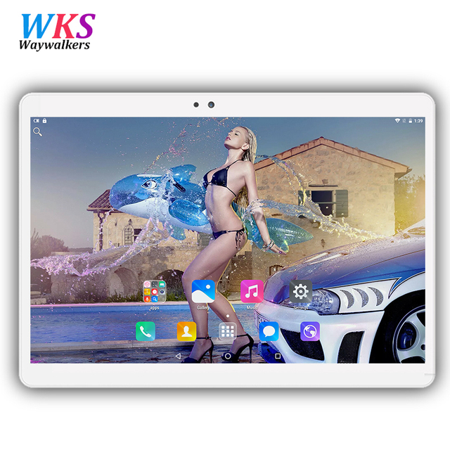 Octa Core 10.1 inch tablet pc MTK8752 Android 7.0 Tablet 4GB RAM 32GB 64GB ROM Dual SIM Bluetooth GPS 1920*1200 Tablets pcs 10""