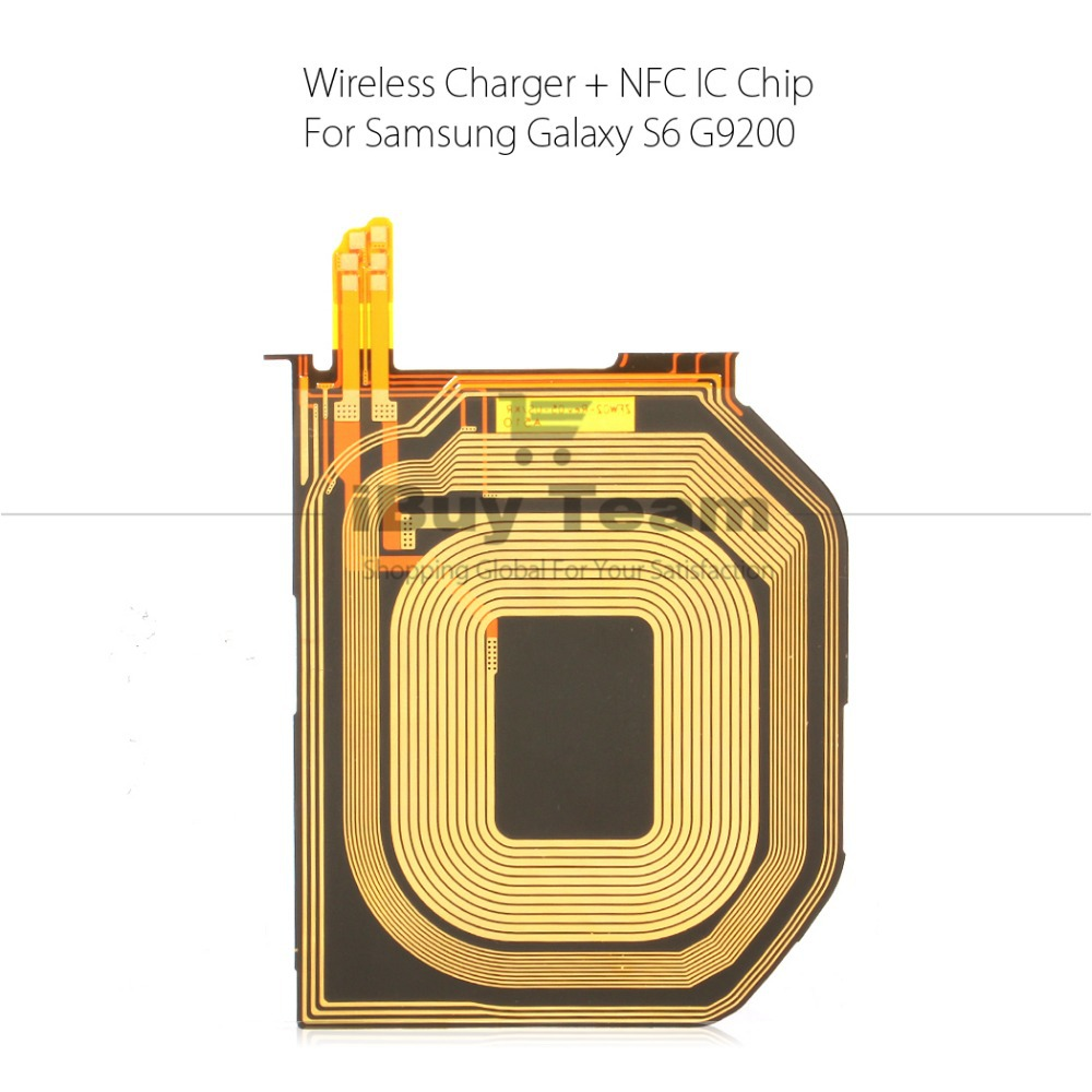original wireless charging nfc ic chip for samsung galaxy s6 g920 g920f case with nfc function. Black Bedroom Furniture Sets. Home Design Ideas