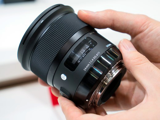 New Sigma 24mm f/1.4 DG HSM Art Lens for Canon женские футболки