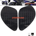 For YAMAHA YZF R25 YZFR25 YZF-R25 YZFR3 YZF-R3 YZF R3 2014-2015   Tank Traction Pad Side Gas Knee Grip Protector 3M Black