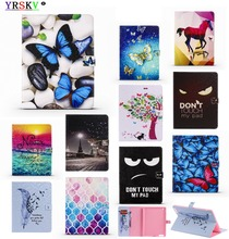 Case For iPad 9.7 inch 2018/2017 New model A1822 A1823 A1893 A1954, YRSKV Painted Series with Auto Wake Up/Sleep Smart Cover цены онлайн