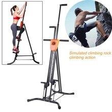 Цифровой Дисплей складной вертикальный Альпинист Восхождение машина тренировки сердечно шагового Фитнес тренировки зал, оборудование для дома