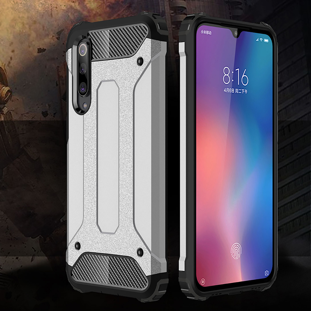 Shockproof Armor Coque Cover 5.97For Xiaomi Mi 9 SE Case For Xiaomi Mi 9 Mi9 SE 9Se Mi9se Phone Back Coque Cover Case