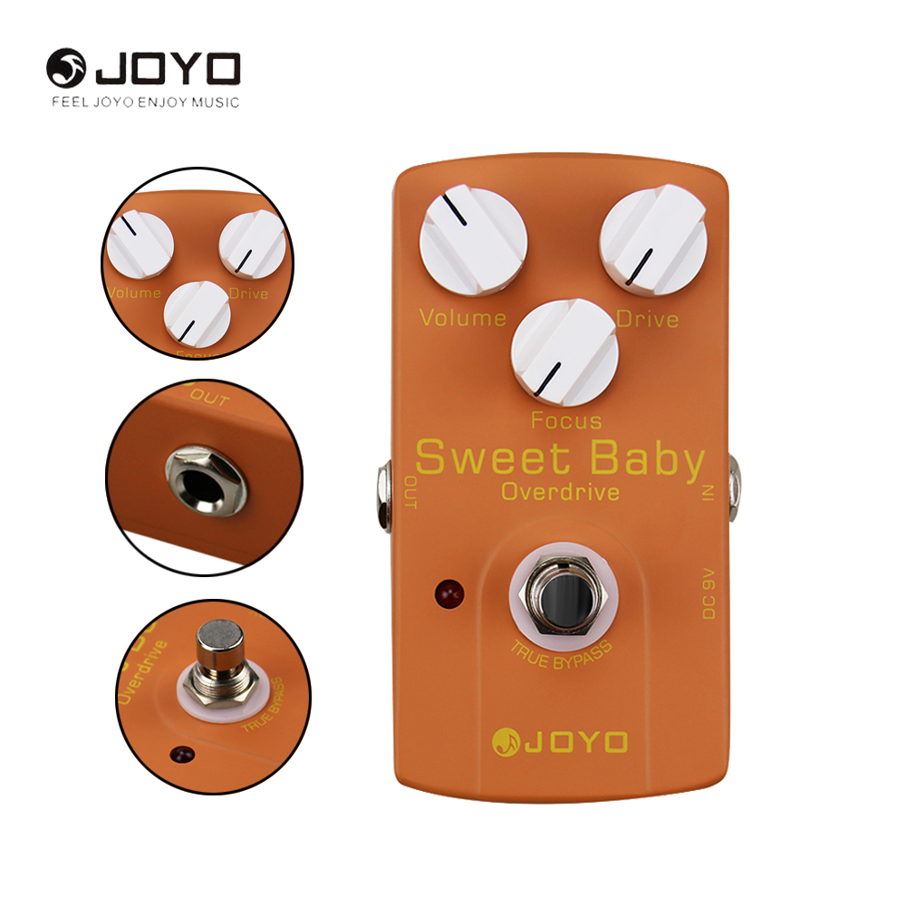 JOYO JF-36 Electric Guitar Overdrive Effect Pedal True Bypass Musical Instrument Guitar Accessories aroma adr 3 dumbler amp simulator guitar effect pedal mini single pedals with true bypass aluminium alloy guitar accessories
