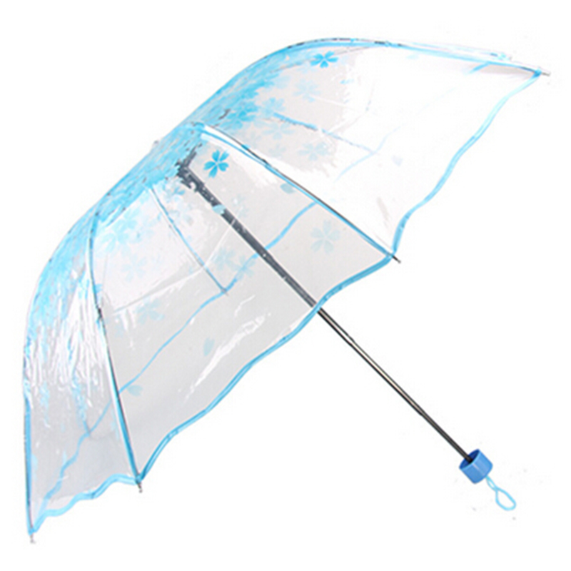 Pattern : A Sun Umbrella Ultra-Light UV Umbrellas for Girls and Girls Fold Half-fold Umbrella Umbrellas Students Umbrellas Fashion Umbrella