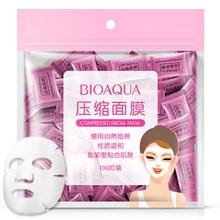 BIOAQUA Μάσκα συμπίεσης Μη υφασμένο χαρτί μάσκας υφασμάτων 50 κομμάτια προ-λεπτής φροντίδας δέρματος Μασκάρισμα μίας μάσκας μίας χρήσης