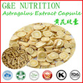 Manufacturer Direct Supply Organic Top Quality Natural Astragalus extract Capsule with free shipping 500mg*600pcs