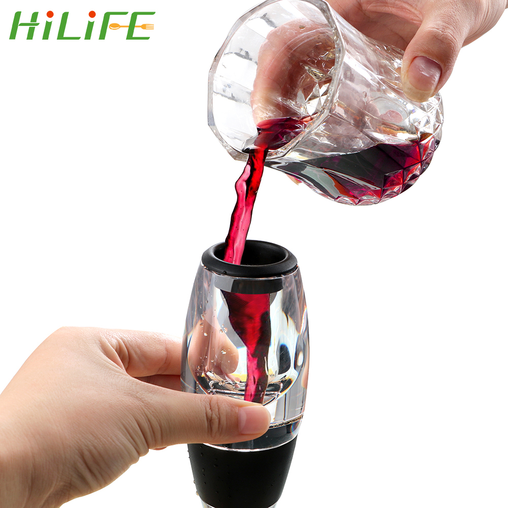 HILIFE Decanter Red Wine Aerator Barware Wine Hopper Filter Bar Accessories Bar Tools