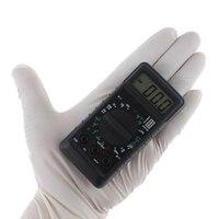 Ferramentas de Teste De Freqüência LCD Portátil Mini Bolso Multímetro Digital com Alarme proteção Contra Sobrecarga Voltage Ampere Ohm Medidor DC AC