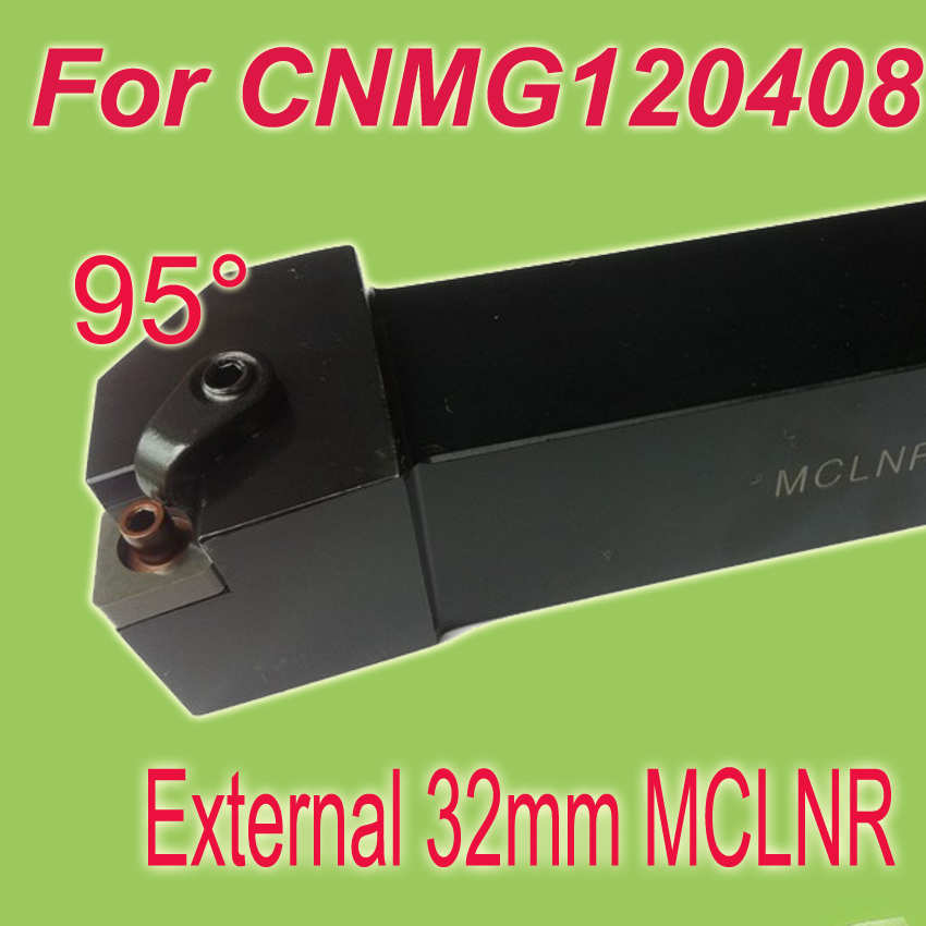 Free Shiping MCLNR 32*32*170mm Shank 1-1/4''  External CNMG Inserts Holder Lathe Tools For Lathe Machine Work on Metal
