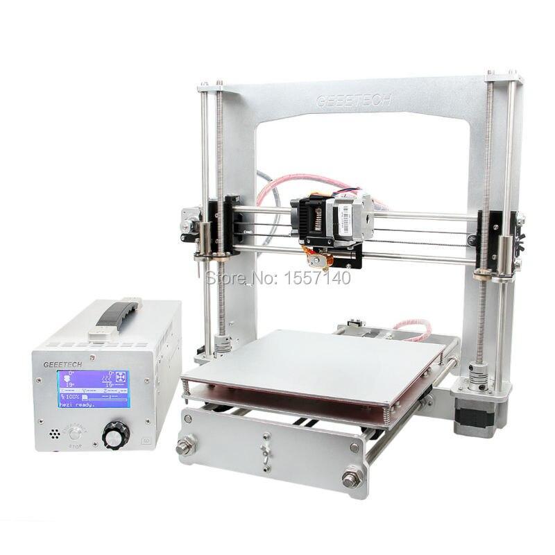 10 PCS Aluminum I3 3D Printer Diy Kit FFF/FDM GT2560 Board LCD 2004 With 3-in-1 3D printer control box e cap aluminum 16v 22 2200uf electrolytic capacitors pack for diy project white 9 x 10 pcs