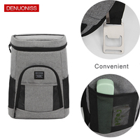 Comfortable Insulated Cooler Backpack Lightweight Backpack Cooler Leak proof Soft Large Camping Cooler Bag for Wine & Beer
