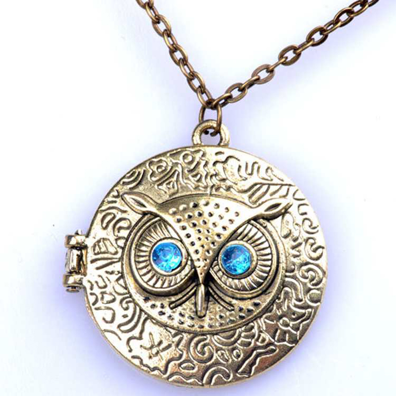 Kuniu Whole Vintage Owl Necklace
