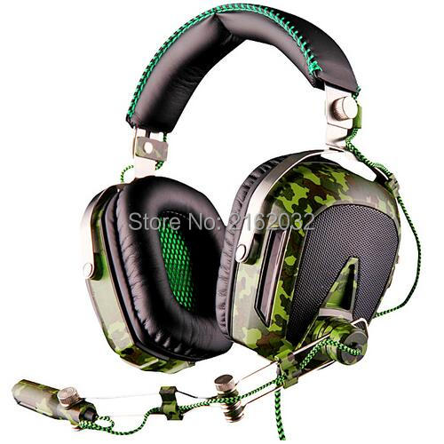 SADES Pilot USB 7.1 Surround sound gaming headset headphone with Microphone noise isolation breathing light for PC Laptop