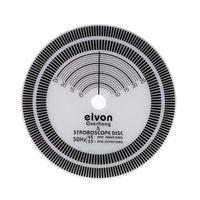 עבור LP ויניל שיא פטיפון Phono טכומטר כיול מרחק מד מד זווית דיסק מייצב
