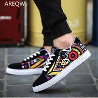 The New Flat Men S Pattern Hit The Color Of The Young Men S Shoes Students
