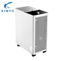 Kinyo Air Purifier Zero Ozone two ways one is control of constant current power supply,the other is Plasma Catalytic Net