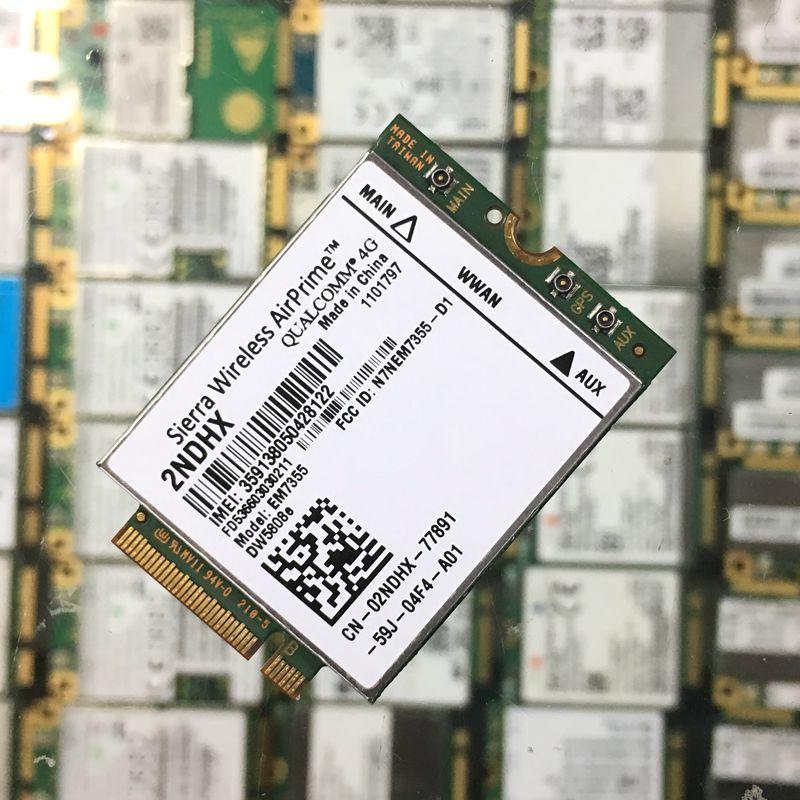 Sierra Gobi5000 EM7355 DW5808e LTE/EVDO/HSPA+42Mbps NGFF 4G Dell Venue 11 Pro Latitude 14 12 11 Pro Latitude 14 12 AirPrime new unlock sierra wireless gobi5000 em7355 lte evdo hspa 42mbps ngff card 4g module for hp lt4111 wwan 704030 001 wcdma card