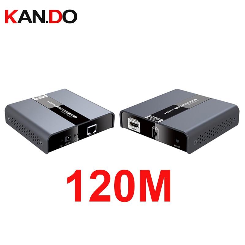 LKV393 HDbitT 4K 60Hz Ultra HD HDMI 2.0 Extender Up 120M CAT5/5E/6 With RS232 IR Passback  HDbitT HDMI Extend 4Kx2K@60Hz