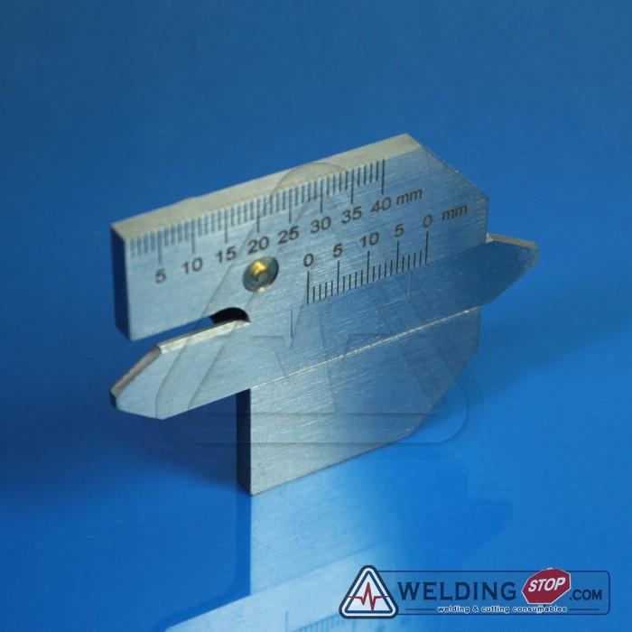 HJC-45 Welding Seam gauge Bead Gage Weld pit test ulnar inspection ruler  цены