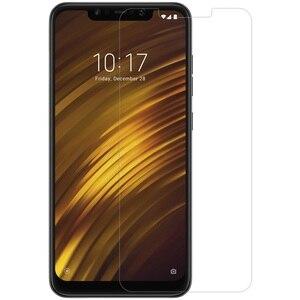 Image 2 - For Xiaomi POCOPHONE F1 強化ガラス For Xiaomi ポコ F1 スクリーンプロテクター Nillkin アメージング H & H + プロ保護フィルム nilkin ガラス