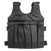 Weighted Vest For Boxing Training Workout Fitness Equipment Adjustable Waistcoat Jacket Sand Clothing Weighted Training Vest