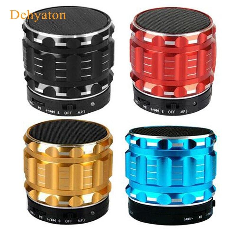 2018 Dehyaton HOT Portable mini K2 Column Bluetooth Speaker Support TF Card FM Radio For smart phones PC laptop Sound Box