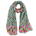 SALUTTO 20 color Fashion Printing Scarves Autumn Winter Scarf For Women Shawl Oversized Bali Yarn Scarves Lady Scarf 180*90CM