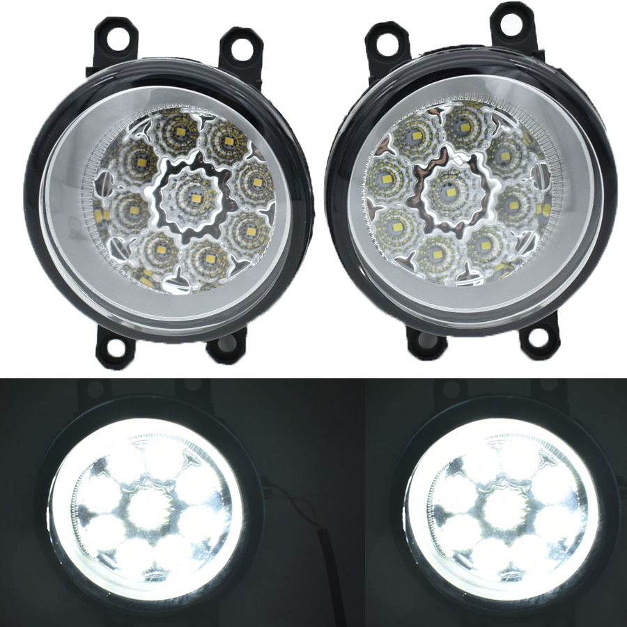 1Set High brightness fog font b lamps b font For TOYOTA Venza Sienna Venza Prius C