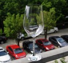 silver stem elegant wine glasses lead free silver stem crystal wedding drinking glasses set  lovers gifts goblet