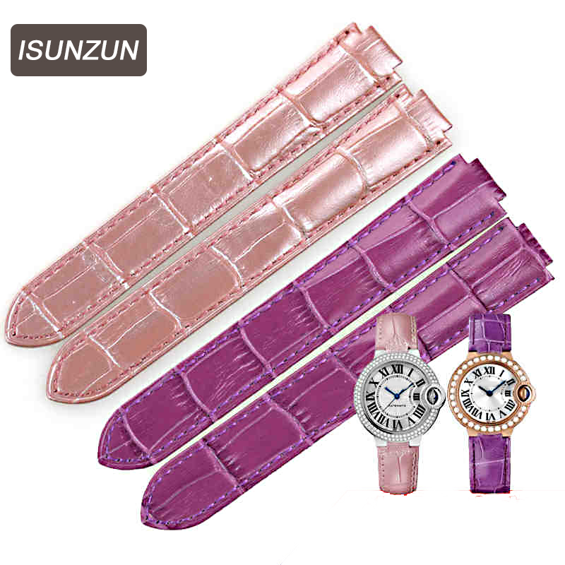 Custom Top Quality Watchband For Cartire Balloon Watch Straps 14MM 16MM 18MM 20 MM 22MM Men/Women Genuine Leather Watchbands new design watchband 20 24 26 27 mm for diesel watch dz7313 dz7322 dz7257 men s women s watchbands with sliver buckle