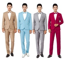 Long-Sleeved Men's Suits  Hosted Tuxedos For Men Wedding Prom Performance Cloth Suit Jacket and Pants S- XXL Men's Clothing