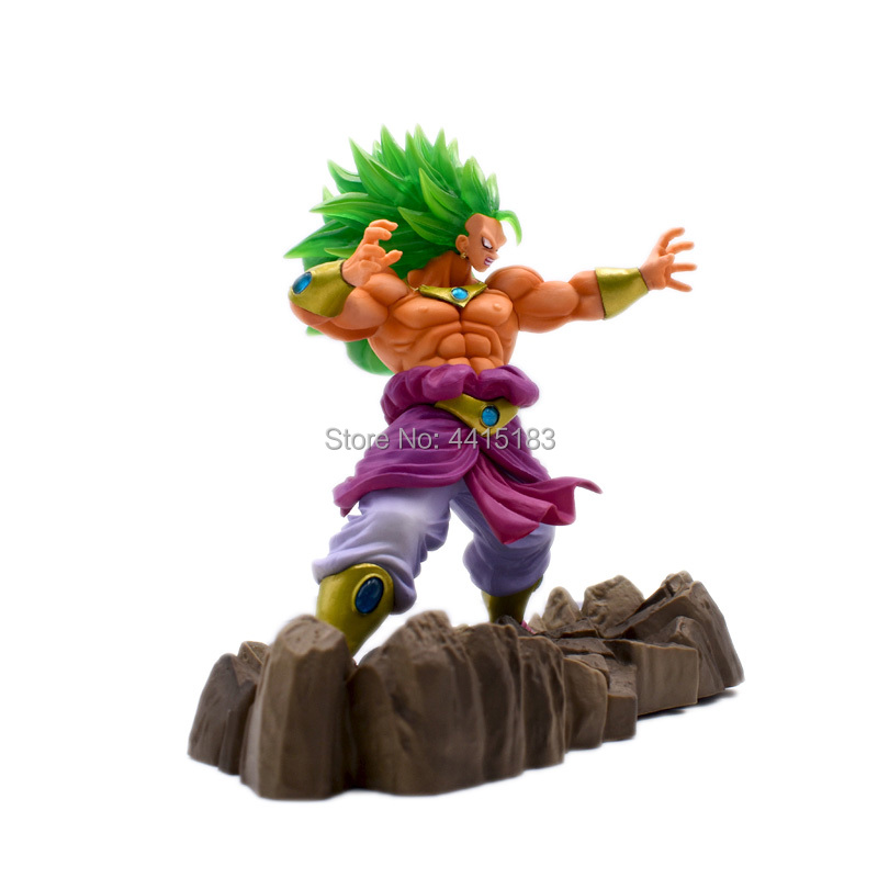 17 cm Anime Dragon Ball Z Super Saiyan Broli Broly PVC Action Figure Doll Collectible Model Toy For Children Christmas Gift in Action Toy Figures from Toys Hobbies