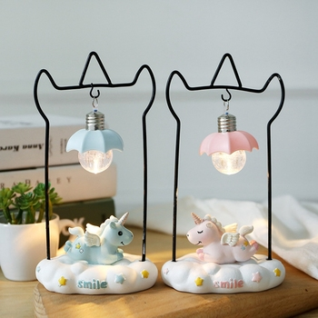 Unicorn Resin LED Night Light