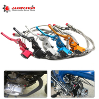 Alconstar 1200mm 7 8 Hydraulic Clutch Lever Master Cylinder Fit To Motorcycle Dirt Pit Monkey Bike