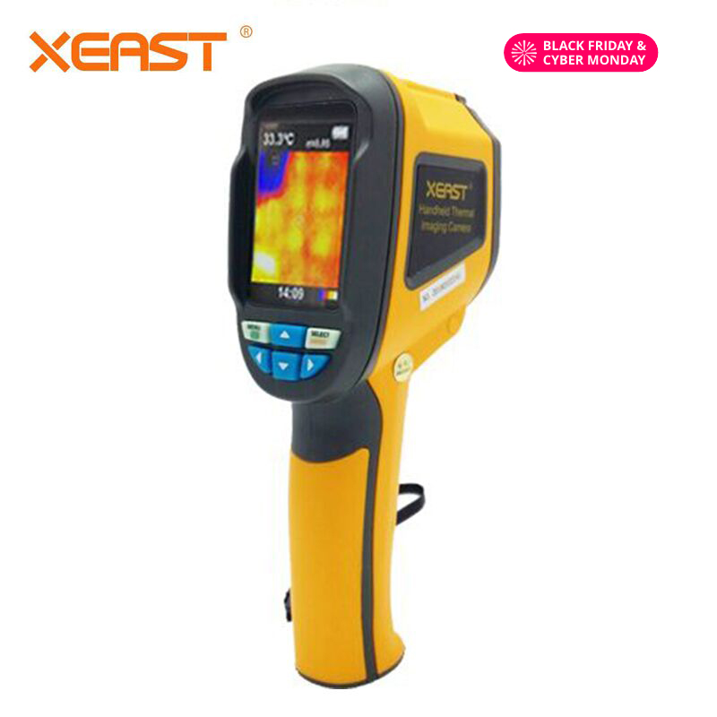 Send From Moscow Warehouse HT 02 Handheld Thermal Imaging Camera Infrared Thermometer Thermal Imager