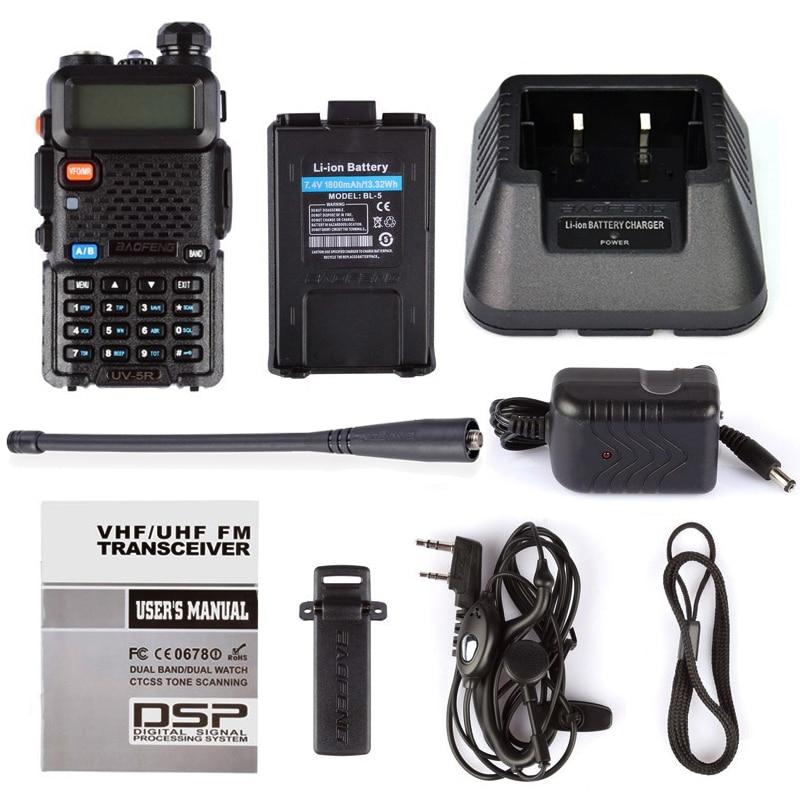 BaoFeng UV-5R Walkie Talkie Dual Band VHF / UHF136-174MHz i - Voki-toki - Foto 6