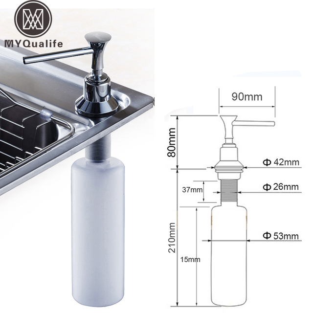 Cheaper Promotion Kitchen Soap Dispenser Plastic Bottle Kitchen Sink Liquid Under Sink Soap Dispenser  sc 1 st  AliExpress & Cheaper Promotion Kitchen Soap Dispenser Plastic Bottle Kitchen Sink ...