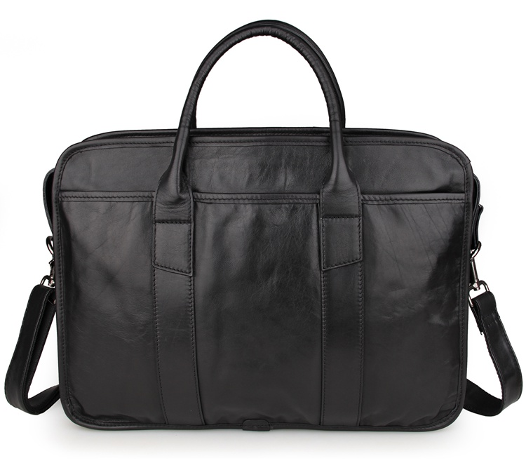 100% Guarantee Genuine Cow Leather Briefcase Laptop Bag Men's Handbag 7321