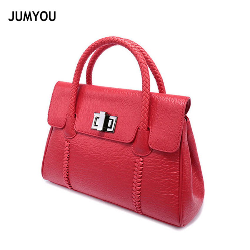 Handbags For Women Split Leather Fashion Sinple Soft Solid Red Crossbody Bags For Ladies Messenger Bags For Female Bolso Mujer цена в Москве и Питере
