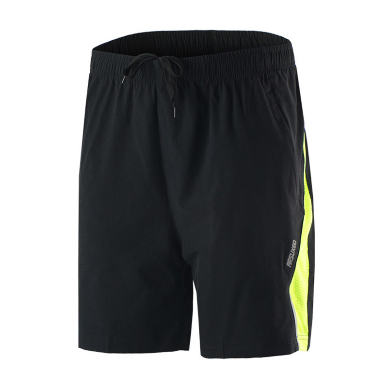 New Outdoor Sport Hiking Drawstring Loose Besketball Quick Dry Cycling Running Climbing Shorts Men Training Gym Short Trousers