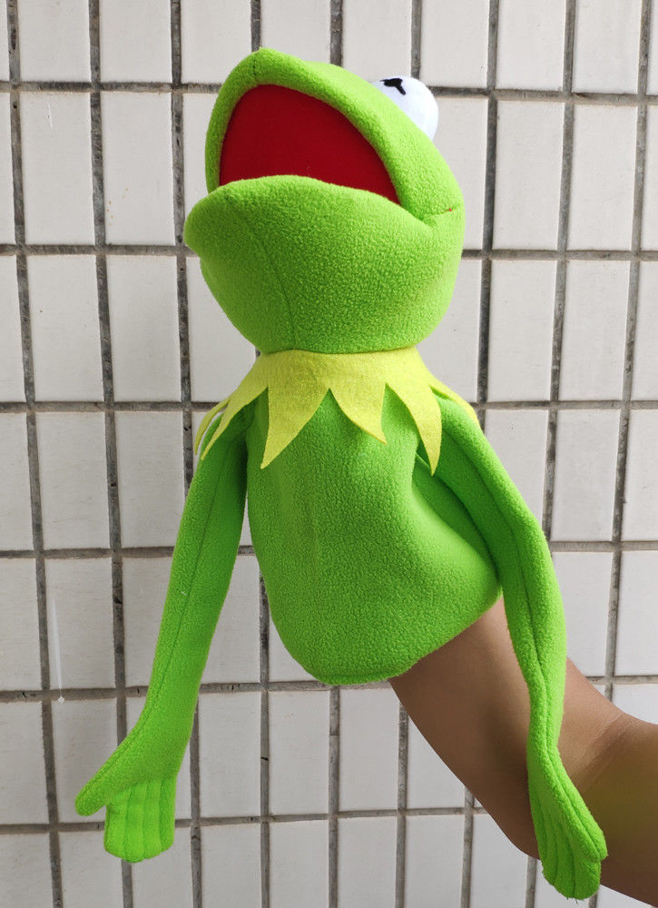 Rare The Muppet Show Puppet Plush Kermit The Frog New