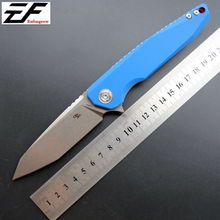 Eafengrow New Arrival CH3004 Camping Folding Knives D2 Steel Blade G10 Handle Tactical Outdoor Knife Hunting Survival Tool