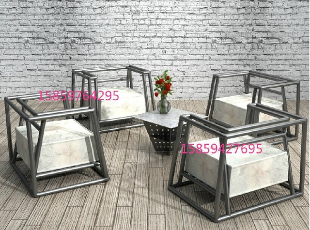 Wrought Iron Outdoor Furniture Leisure Furniture Sofa Chairs
