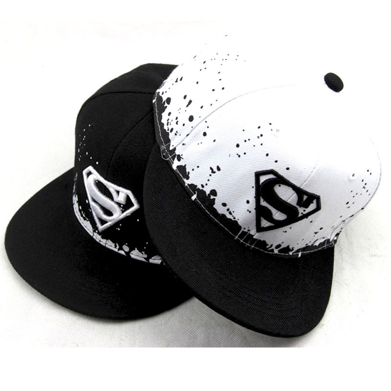 33e92f26adc05 Fashion Superman Hat Adult And Child Snapback Hat For Boy Snapback Caps  Baby Hip Hop Hats Baby Baseball Cap Hip Hop Sun Cap-in Baseball Caps from  Apparel ...