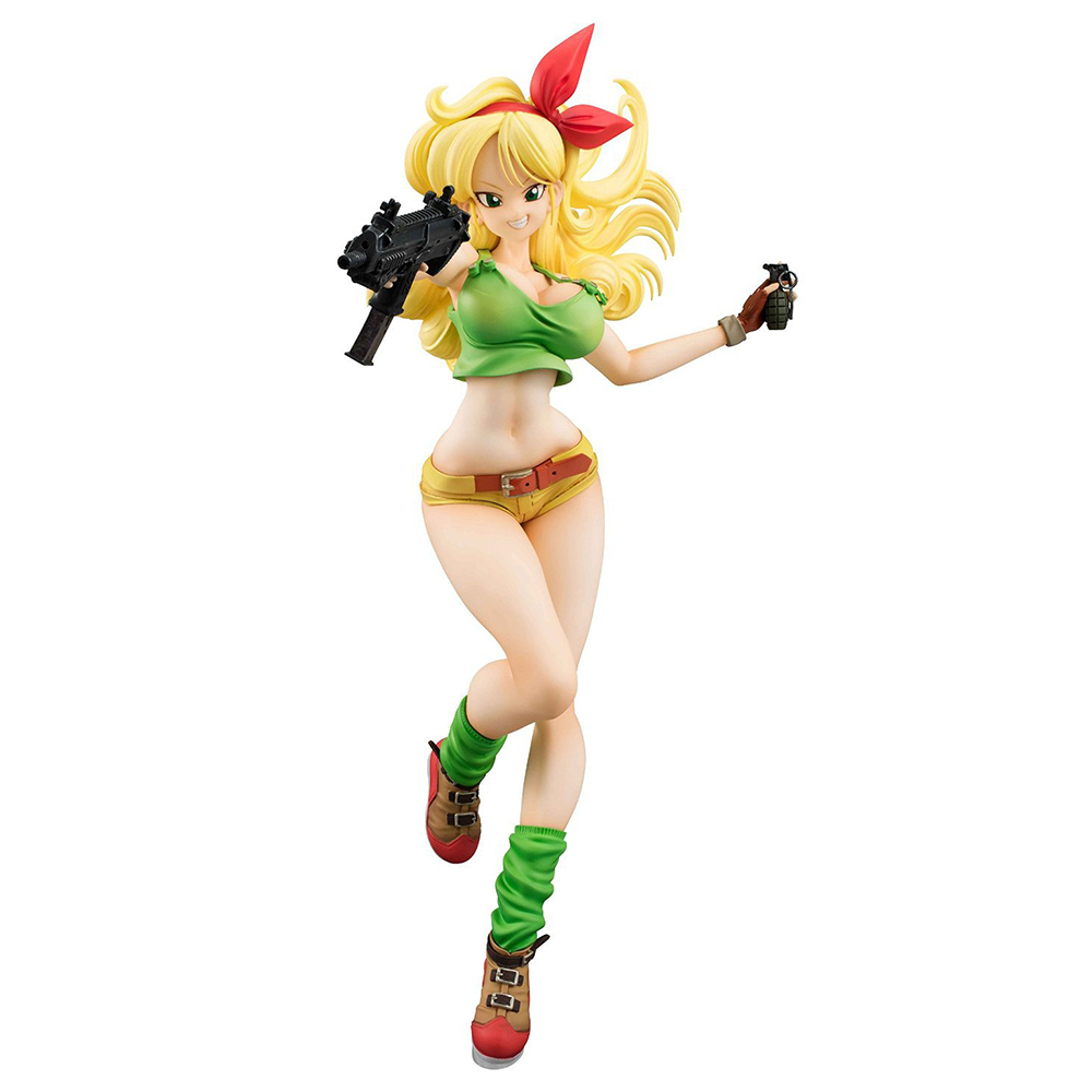 19cm Anime Dragon Ball Z Action Figures Golden Hair Lunch Warrior PVC Action Figure Collectible Model Kids Toys Doll